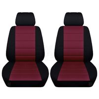 Two Front Seat Covers Two Tone Colors 10 Color Choices Fits Honda CR-V Side Airbag Friendly $79.99