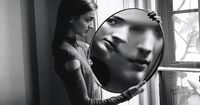 Dr. Heisenberg's Magic Mirror of Uncertainty. By DUANE MICHALS. �€œA series of six pictures in which the model looks at herself in a huge mirror, the so called Dr. Heisenberg's magic mirror. Michals, whose technique is to shoot seri...