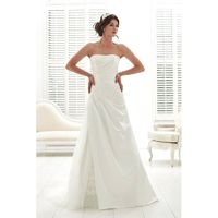 Romantica Style PC6960 by Phil Collins - Satin Floor Strapless A-Line Wedding Dresses - Bridesmaid Dress Online Shop
