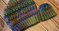 Slouch Hat Free Pattern - Preemie to Adult Large