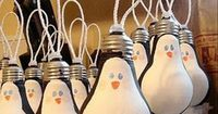 Great use for old burned out light bulbs or bulbs you've replaced with those hi-eff. ones!