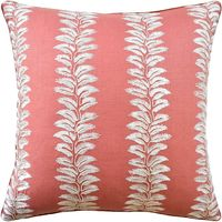 Bradbourne Coral Pillow $305.00
