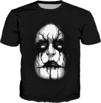 Black Metal Adult T-Shirt $30.00