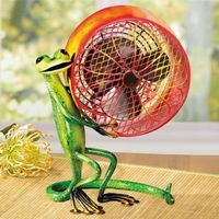 "Deco BREEZE '�'��""Gecko'�'� Lizard Fan 1 Speed Motor A great gift for lizard lovers!"