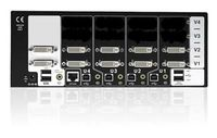 AV4PRO-DVI-DUAL-US AdderView Pro 4 Port supports high resolution KVM console using either dual link DVI or high definition analogue video links. Buy AV4PRO-DVI-DUAL-US AdderView from KVMSwitchTech.com