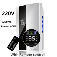 2.2L 220V Portable Home Dehumidifier Mute Bedroom Air Purifier Mini Moisture Absorption Dryer