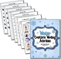 Free Creative Writing Activities for Winter - Pinned by