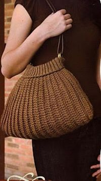 Ravelry: Sweater Bag by Butterfly pattern by Needle-Works Butterfly