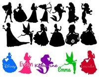 disney silhouettes More