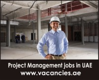 Project management jobs in UAE