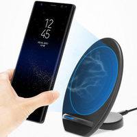 Bakeey Qi Wireless Charger Charging Pad Stand for iPhone X/8 Galaxy Note 8/5 S8/S8 Plus S7/S7