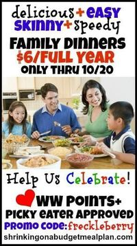 New school year have you crazed? Tough to lose weight because your schedule is insanely hectic? Shrinking Meal Plans is your secret weapon to ensuring Family Dinners are priority in this year's school routine. We want to celebrate the birth of our new...