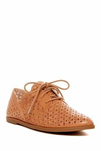 Lucky Brand Yatess Women Round Toe Leather Oxford in Clay size 9 $65.00