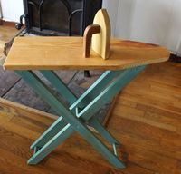 How-To: Child Sized Ironing Board from Laura and Katie of Duo Fiberworks on Prudent Baby #woodworking