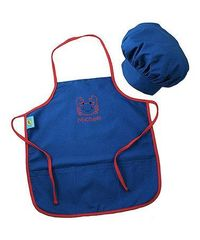 Look at this #zulilyfind! Blue Crab Personalized Chef Hat & Apron #zulilyfinds