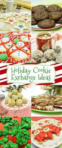 What better way to celebrate the holiday season than with a cookie exchange party? Whether you're the host or a guest, try out one of these delicious recipes ma
