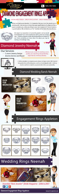Visit our site http://janthonyjewelers.com for more information on Diamond Engagement Rings Appleton. Diamond engagement rings Appleton reflects love, affection, security, trust and a life long commitment. It portrays your love in the best possible manner...
