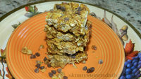 Healthy Vegan Pumpkin Granola Bars