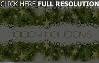 Free happy holidays and new year wish 2015