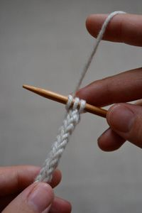 How to knit an i-cord. would be perfect and quite durable to hold onto those ever lost mittens or gloves on the little ones!!!