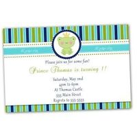 prince frog invations | Printable Baby Shower or Birthday Prince Frog Invitations