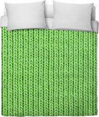 Rob Green Knit Duvet Cover $120.00