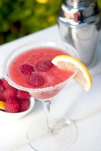 raspberry lemon drop.