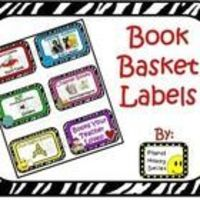 This is a VERY organized set of classroom labels! All labels are sorted into their category and color coded for easy sorting. It makes book shopp...