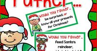Teach opinion writing with these fun Would You Rather Prompts! FREE!