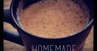 homemade pumpkin chai Ingredients 1/2 Cup Chai Concentrate (Could brew your own chai if you wanted!) 1/2 Cup Almond Milk 1 Tbs Pumpkin Puree Instructions Mix Chai and Pumpkin together, heat up either by microwave for 1 minute or slowly on the stov...