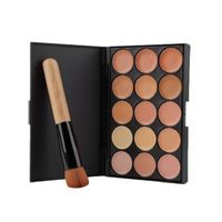 Price: $18.13 | Product: Professional Makeup tool set 15 Color Face Concealer Eyeshadow Palette & Wood Handle Brush Kit | Visit our online store https://ladiesgents.ca