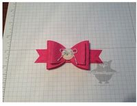 Dani's Thoughtful Corner: Paper Bow Tutorial