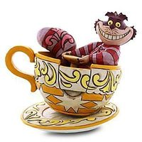 Disney Cheshire Cat in Tea Cup Figure by Jim Shore | Disney StoreCheshire Cat in Tea Cup Figure by Jim Shore