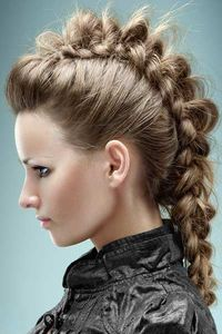 Here is a collection of inspiring braided hairstyles I have been collecting lately. More Hair Styles Like This!