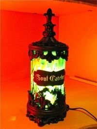 DIY instructions Soul Catcher Jar light up decoration!