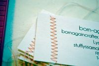 great idea for business cards :]!