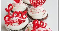 Create your own Valentine Cupcake Toppers in just minutes. They are so simple to make and are delicicous!