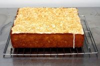 key lime coconut cake by smitten, via Flickr--I had this at a party recently and it was AMAZING!