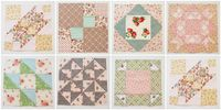 #FWQAL blocks by Amy of nanacompany. I just adore her chosen fabrics and colours.