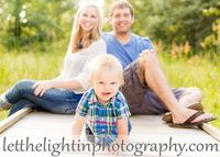 Family portrait ideas with a 1 year old