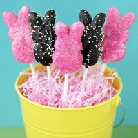 Chocolate Dipped Easter Peeps - By Love From The Oven