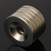 20 pcs 20 x 3 mm Strong Round Countersunk Ring Magnets 5 mm Hole Rare Earth Neodymium $9.90