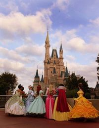 One day I WILL go to Disney Land and dress up like a princess. I don't care how old I am.