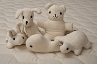 Keep your babies safe buy gifting them organic stuffed animals like Big Dog, Teddy Bear, Turtle etc in $33 only.