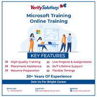 Learn Microsoft azure course Online From USA's Top Rated Training Institute, Choose your career with Verity Solutions The Complete Developing Microsoft Azure Solutions Online Basics to Advanced https://verity-sol.com/developing-microsoft-azure-solu...