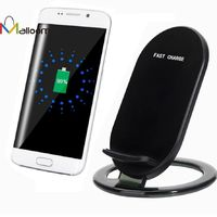 2017 Qi Fast Wireless Charger 5V 1.5A Quick Charger Power Charger Charging Pad For Samsung Galaxy S8/S8 Plus#30 GHS87.24
