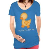 Cute and funny maternity tops for the new mom-to-be