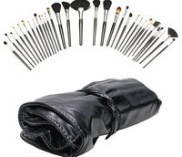 Beautify - 32pc Cosmetic Makeup Brush Set Kit with Case No description (Barcode EAN = 5060147555523). http://www.comparestoreprices.co.uk/make-up-cases/beautify--32pc-cosmetic-makeup-brush-set-kit-with-case.asp