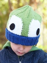 Peek-A-Boo! Hat | Yarn | Free Knitting Patterns | Crochet Patterns | Yarnspirations