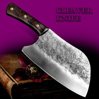 Chinese Cleaver Chef Kitchen Knife Home Cooking Tool $87.90